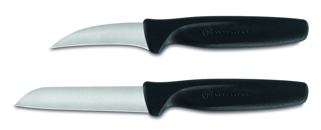 NEW Wusthof Create 2pc Peeling/Paring Knife Set - Black