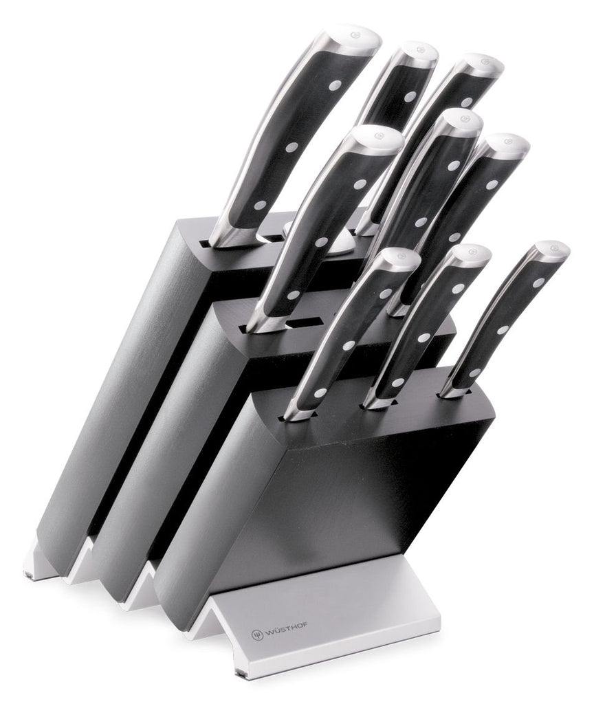 Wusthof Classic IKON Knife Block Set 9pc