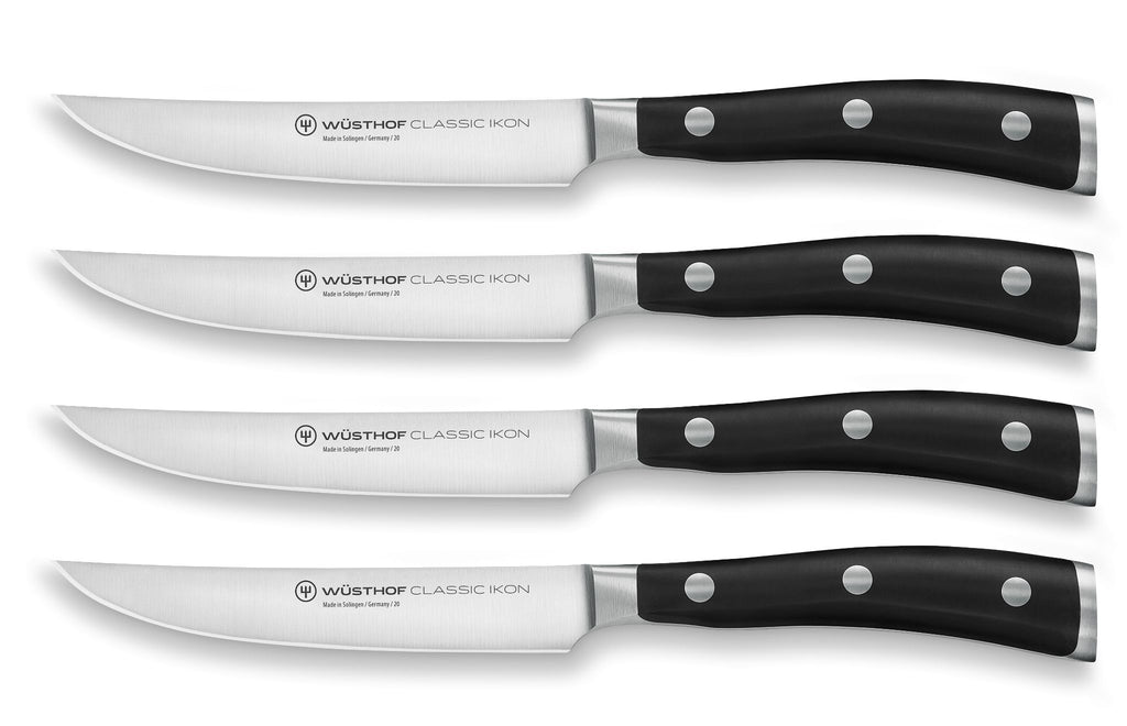 Wusthof Classic IKON Steak Knife Set 4pc