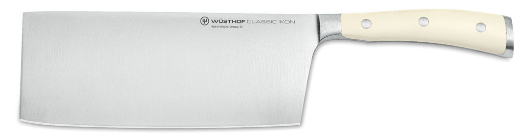 Wusthof Classic IKON Creme Chinese Chefs Knife 18cm