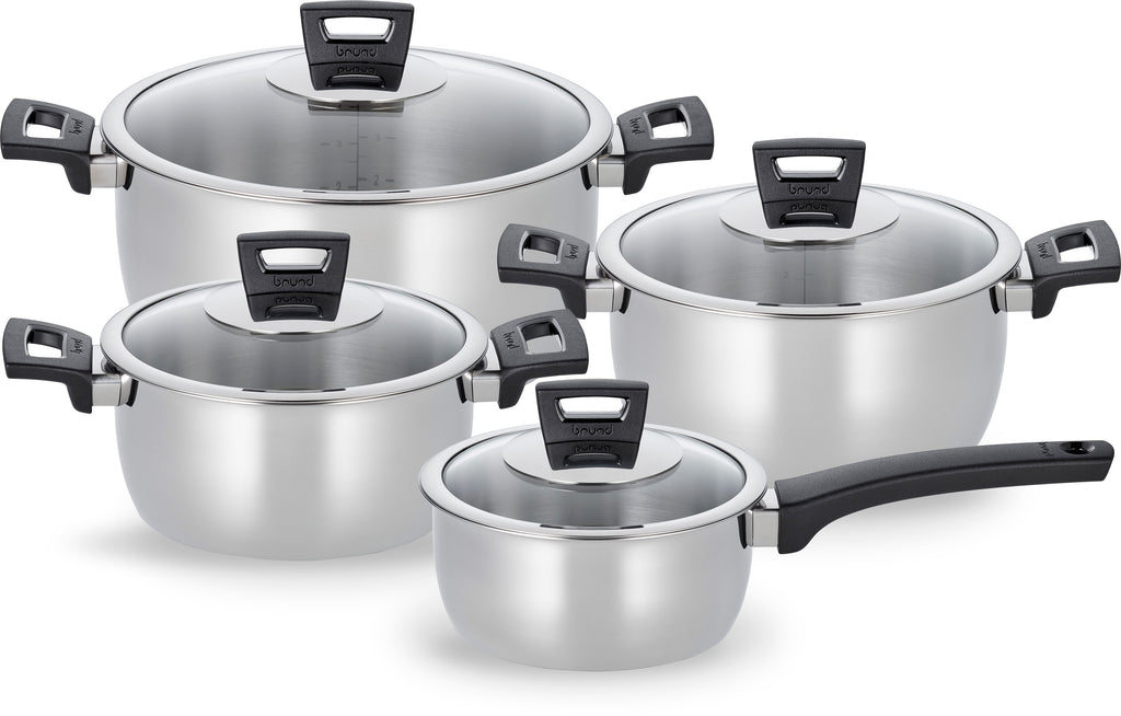 Brund Easy Cook 4PC Cookware Set