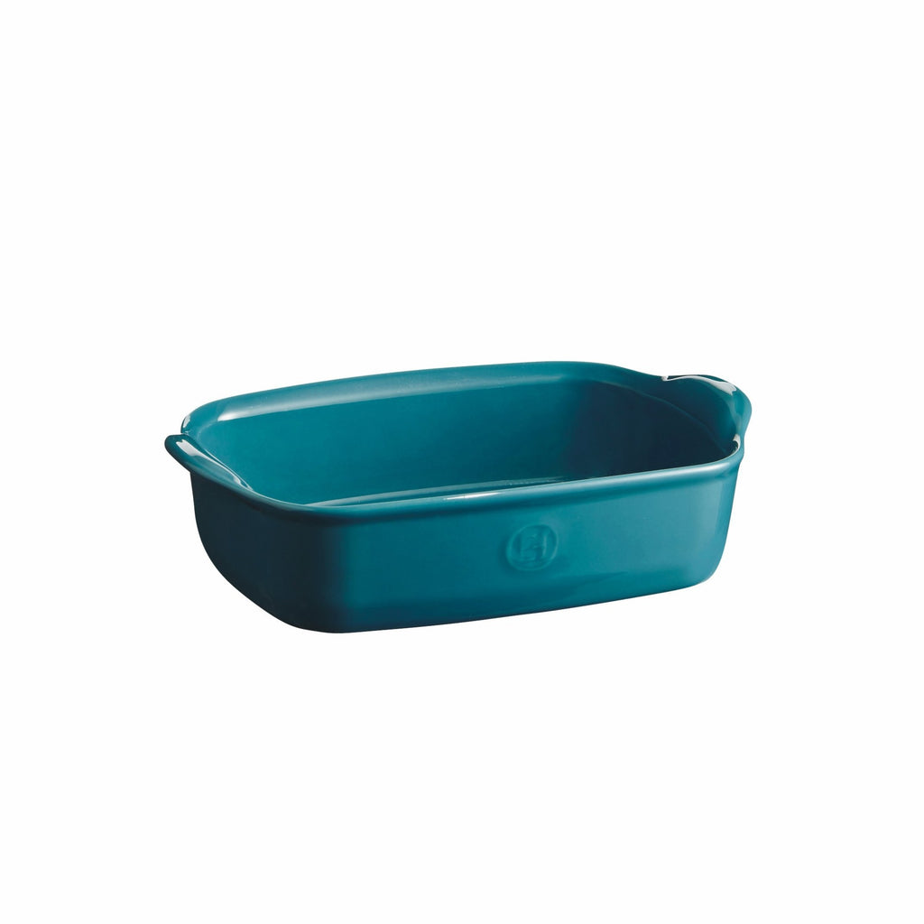 Emile Henry Individual oven Dish Mediterranean Blue 22cm x 14.5cm