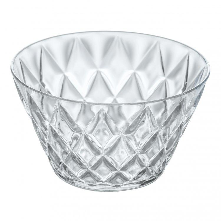 Koziol Bowl 500ml - Crystal Clear