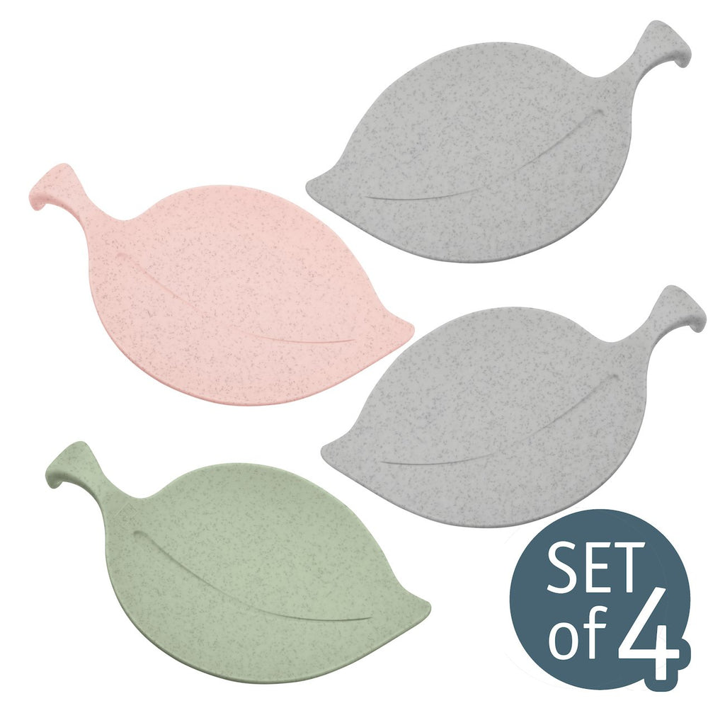 Koziol LEAF-ON Bowl Organic Green/Organic Grey/Organic Pink
