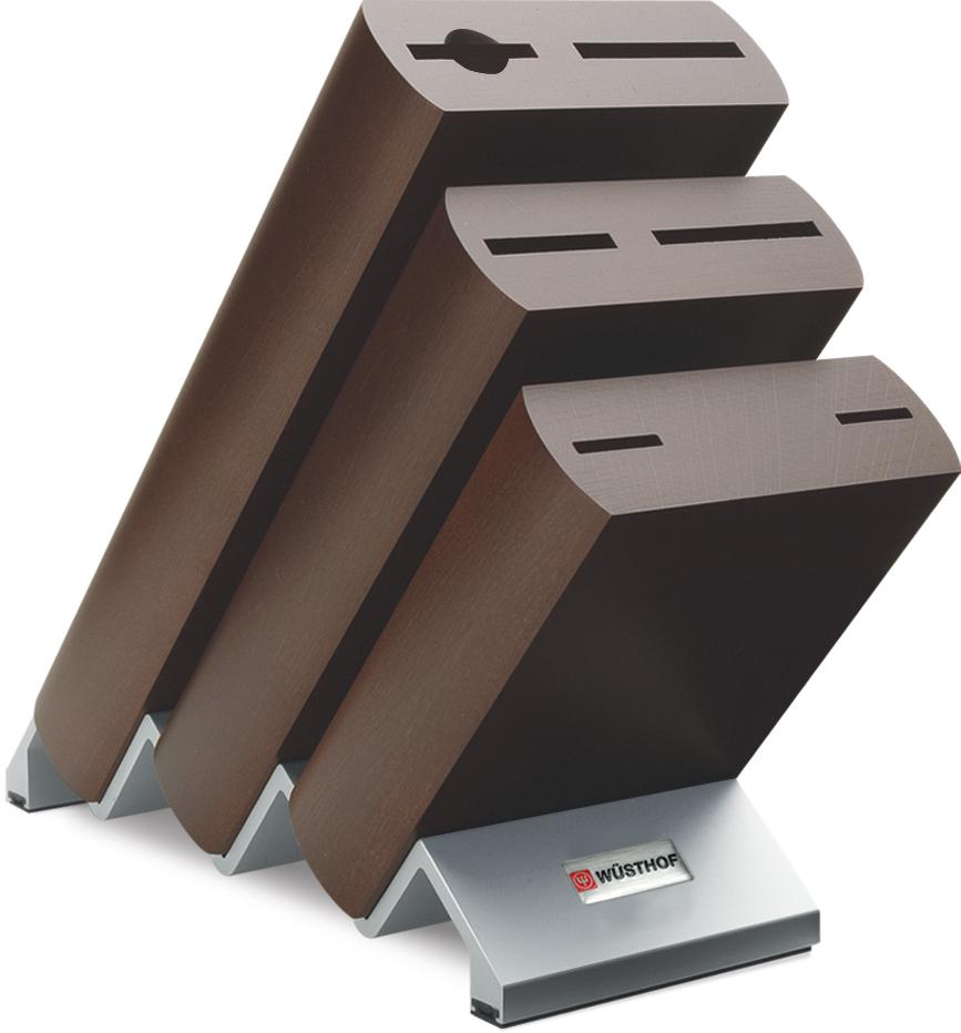 Wusthof Knife Block Brown 6 slot