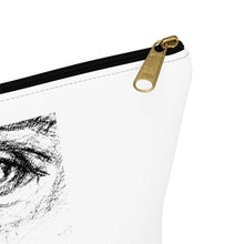 "Load image into Gallery viewer, ""Everything You Can Imagine"" - Accessory Pouch w T-bottom"
