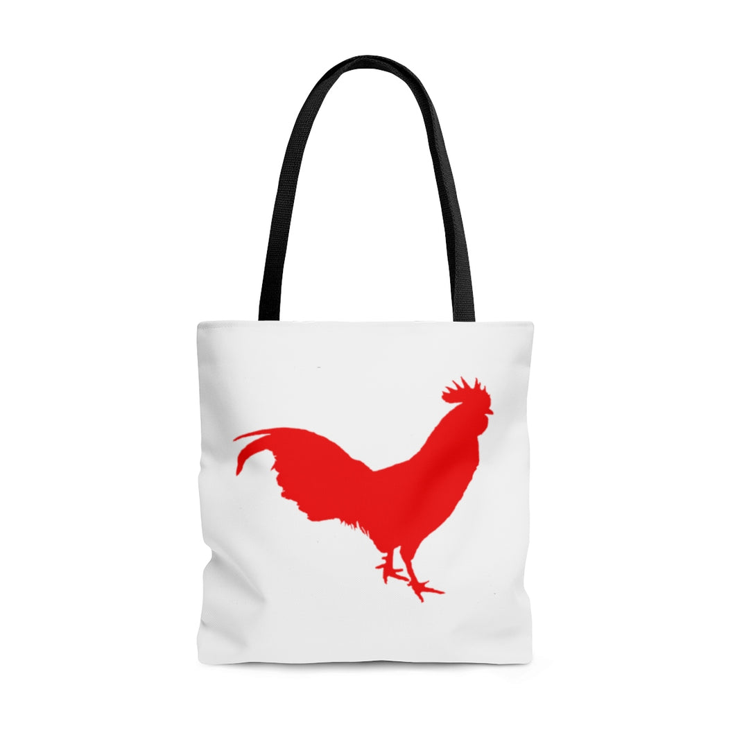 Red Rooster - AOP Tote Bag