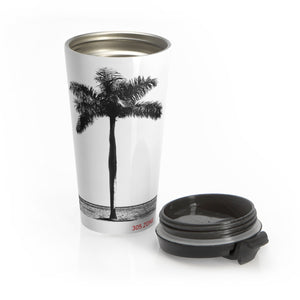 305.Zone Royal Palm - Stainless Steel Travel Mug