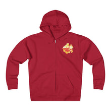 Load image into Gallery viewer, Hibiscus Log Unisex Heavyweight Fleece Zip Hoodie