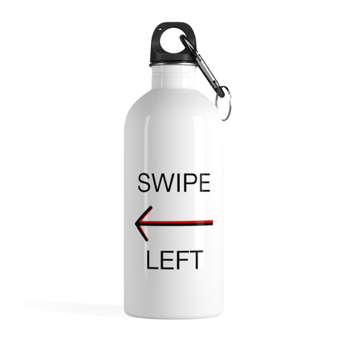 Swipe Left - Stainless Steel Water Bottle