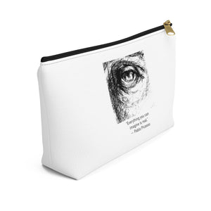 """Everything You Can Imagine"" - Accessory Pouch w T-bottom"