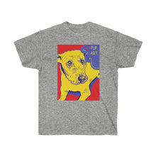 Load image into Gallery viewer, Pup Art - Unisex Ultra Cotton Tee