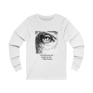 """Everything You Can Imagine"" Unisex Jersey Long Sleeve Tee"