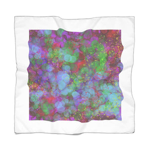 Abstract Purple - Poly Scarf