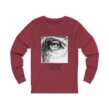 "Load image into Gallery viewer, ""Everything You Can Imagine"" Unisex Jersey Long Sleeve Tee"