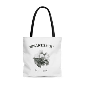 Black & White Logo Tote Bag