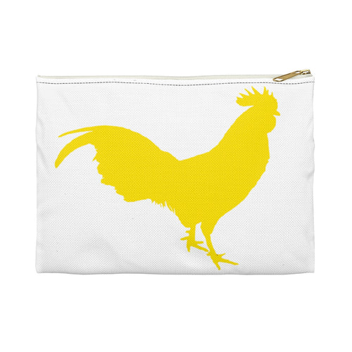 Yellow Rooster - Accessory Pouch