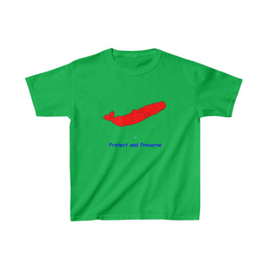 """Protect and Preserver"" - Whale Kids Heavy Cotton™ Tee"