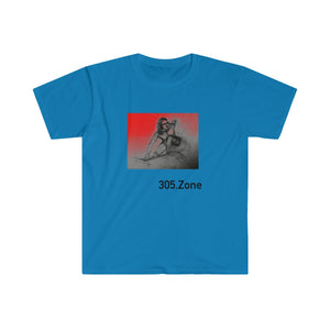 Surfer Girl 305.Zone - Men's Fitted Short Sleeve Tee