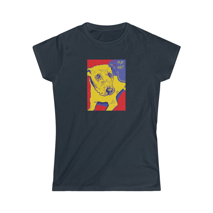 Pup Art - Women's Softstyle Tee