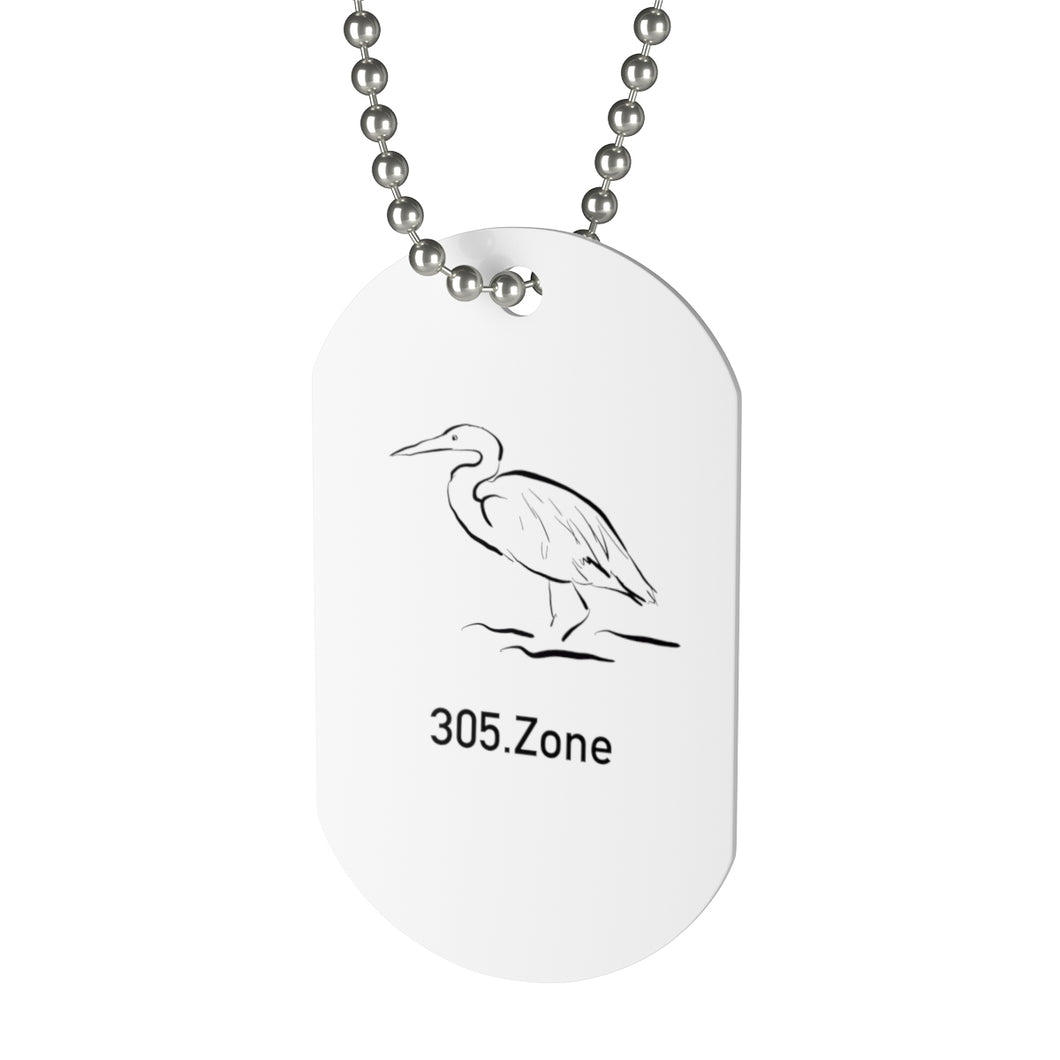 305.Zone - Heron - Dog Tag