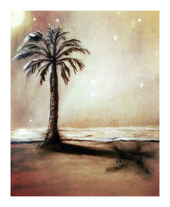 Night Beach Florida - Giclee