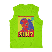 "Load image into Gallery viewer, ""Suh?"" - Men's Sleeveless Performance Tee"