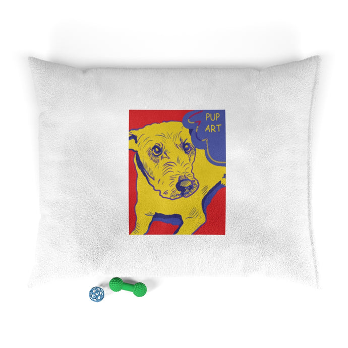 Pup Art - Pet Bed