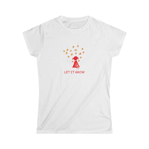 Let It Grow - Women's Softstyle Tee