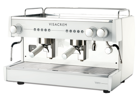 Visacem Vetro Commercial Coffee Machine 2 Group