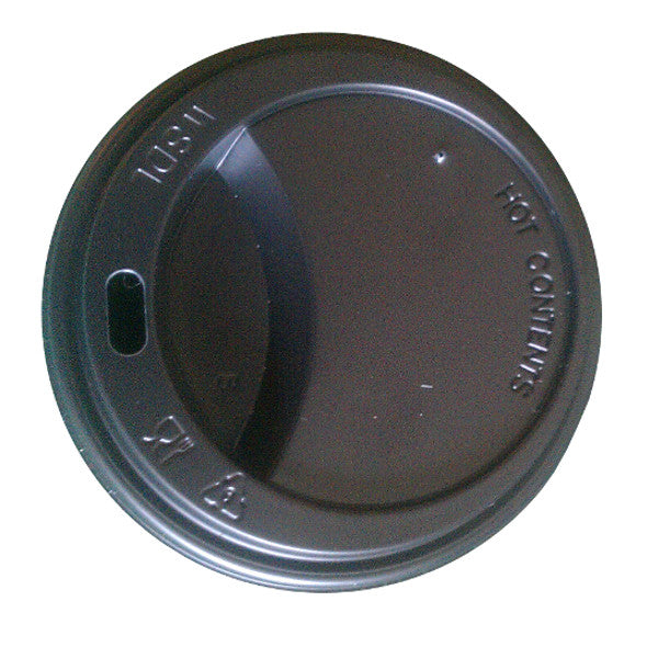 Takeaway cup Lids for 12oz to 20oz Black (1000 Lids) 30% Discount