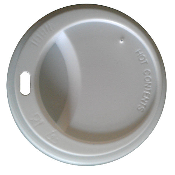 Lids for 12 to 20oz Takeaway Cups White (1000 Lids) 20% Discount