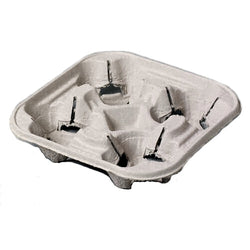 Carry Tray for Four Takeaway Cups - Case of 160