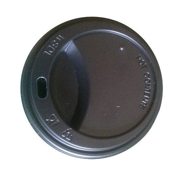 Lids for 8oz Takeaway Cups Black (1000 Lids) 20% Discount