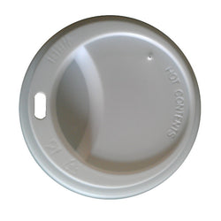 Lids for 8oz Takeaway Cups White (1000 Lids) 20% Discount