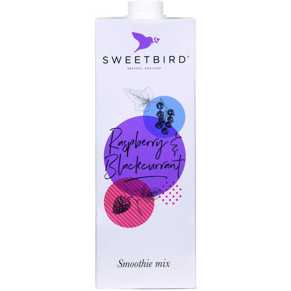 Sweetbird Raspberry and Blackcurrant Smoothie 1 Litre