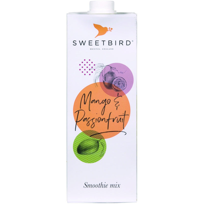 Sweetbird Mango and Passionfruit Smoothie 1 Litre