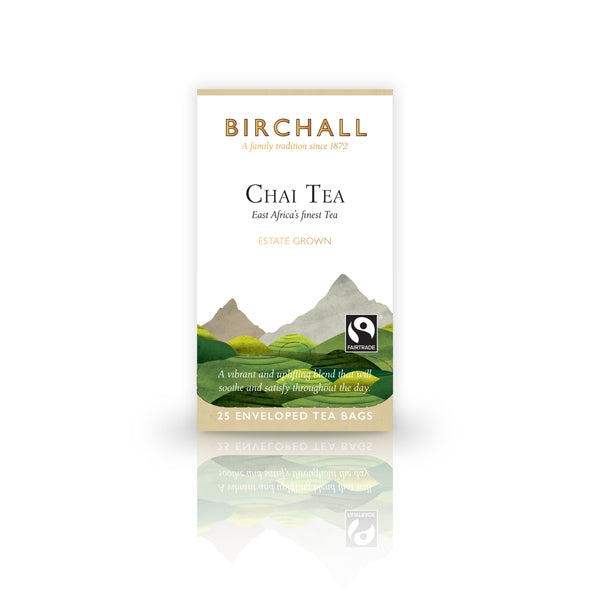 Birchall Chai Tea 25 Tagged & Enveloped Tea Bags