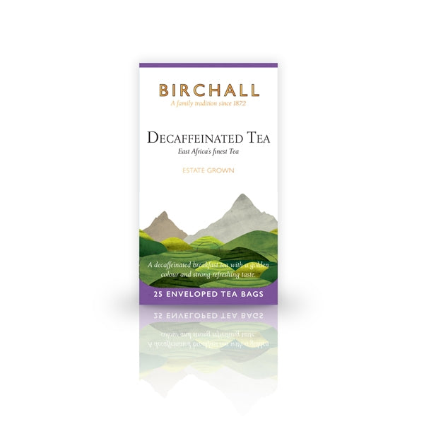 Birchall Decaffeinated Tea 25 Tagged & Enveloped Tea Bags