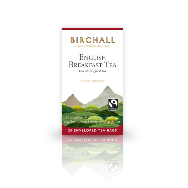 Birchall English Breakfast Tea  25 Tagged & Enveloped Tea Bags