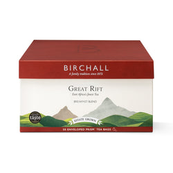 Birchall Great Rift Breakfast Blend - 50 Enveloped Prism Tea Bags