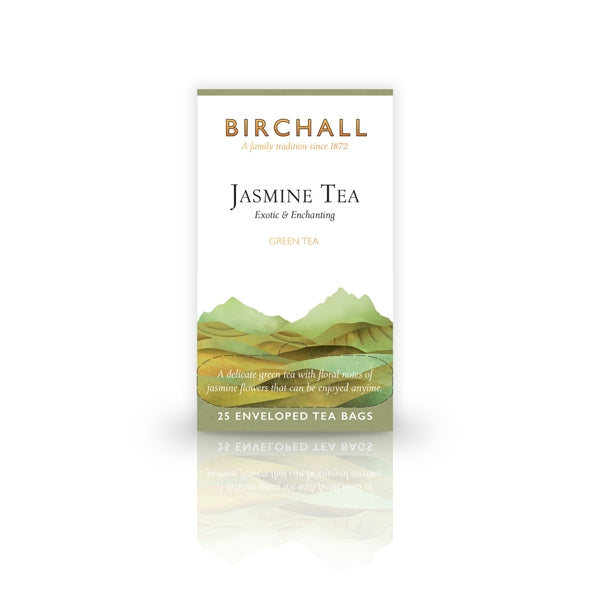 Birchall Jasmine Tea  25 Tagged & Enveloped Tea Bags