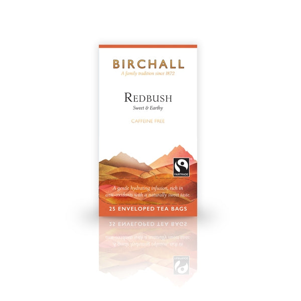 Birchall Redbush  25 Tagged & Enveloped Tea Bags