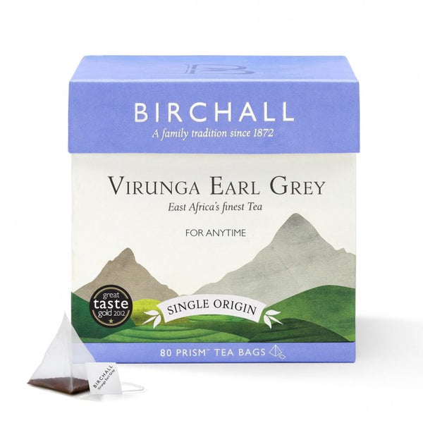 Single Estate Earl Grey - 80 Prism Tea Bags 10% Discount