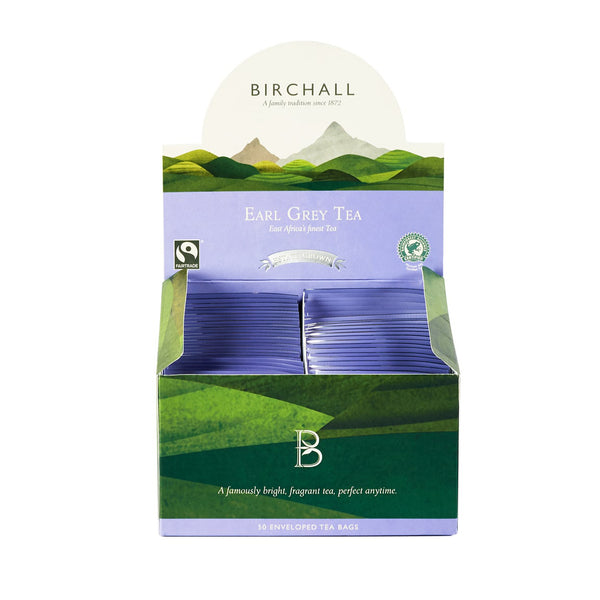 Birchall Earl Grey Tea - 50 Enveloped Tea Bags
