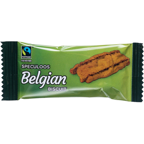 Fairtrade Belgian Speculoos, 300 Individually Wrapped Half Price
