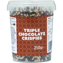 Zuma Triple Choc Crispies Topping 250g