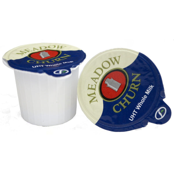 Meadow Churn UHT Whole Milk Pots (120)