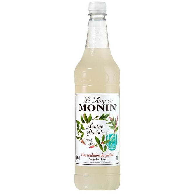 Monin Frosted Mint Syrup 1 Litre