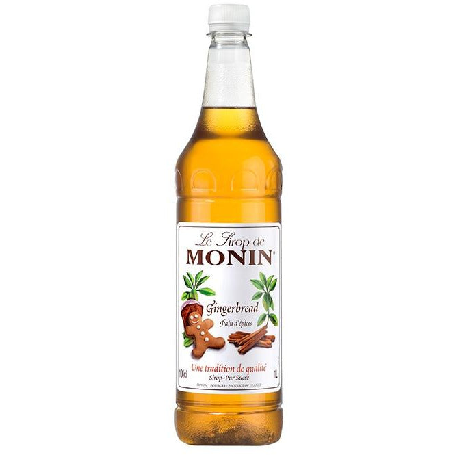 Monin Gingerbread Syrup 1 Litre 10% Discount